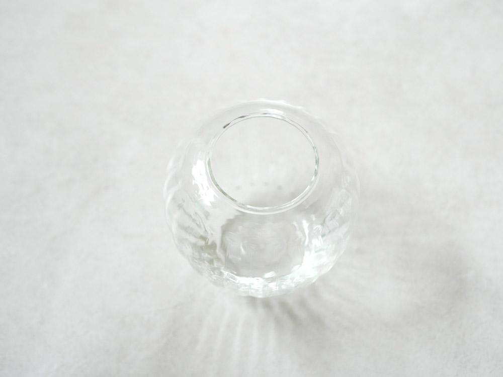 【Horn Please MADE】リューズガラス クーレライン フラワーベース ポム