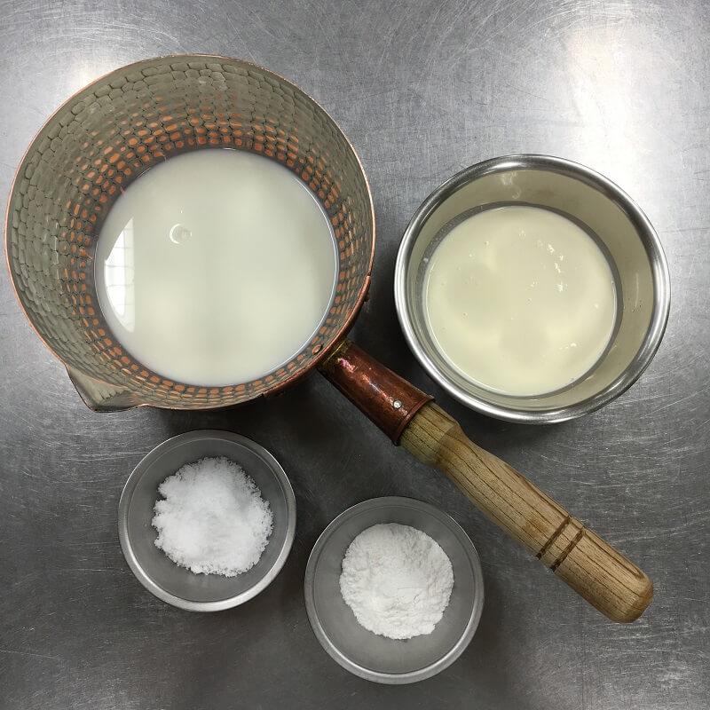 米粉のパンナコッタ風