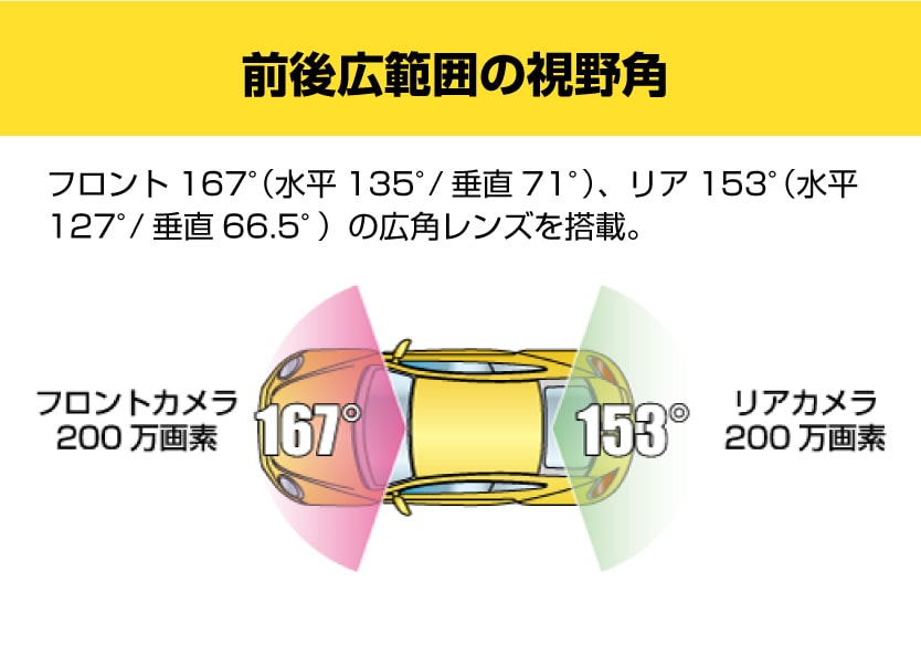 DRT-200MA STARVIS搭載リアカメラ付きドライブレコーダー【出張取り付け工事費込み】