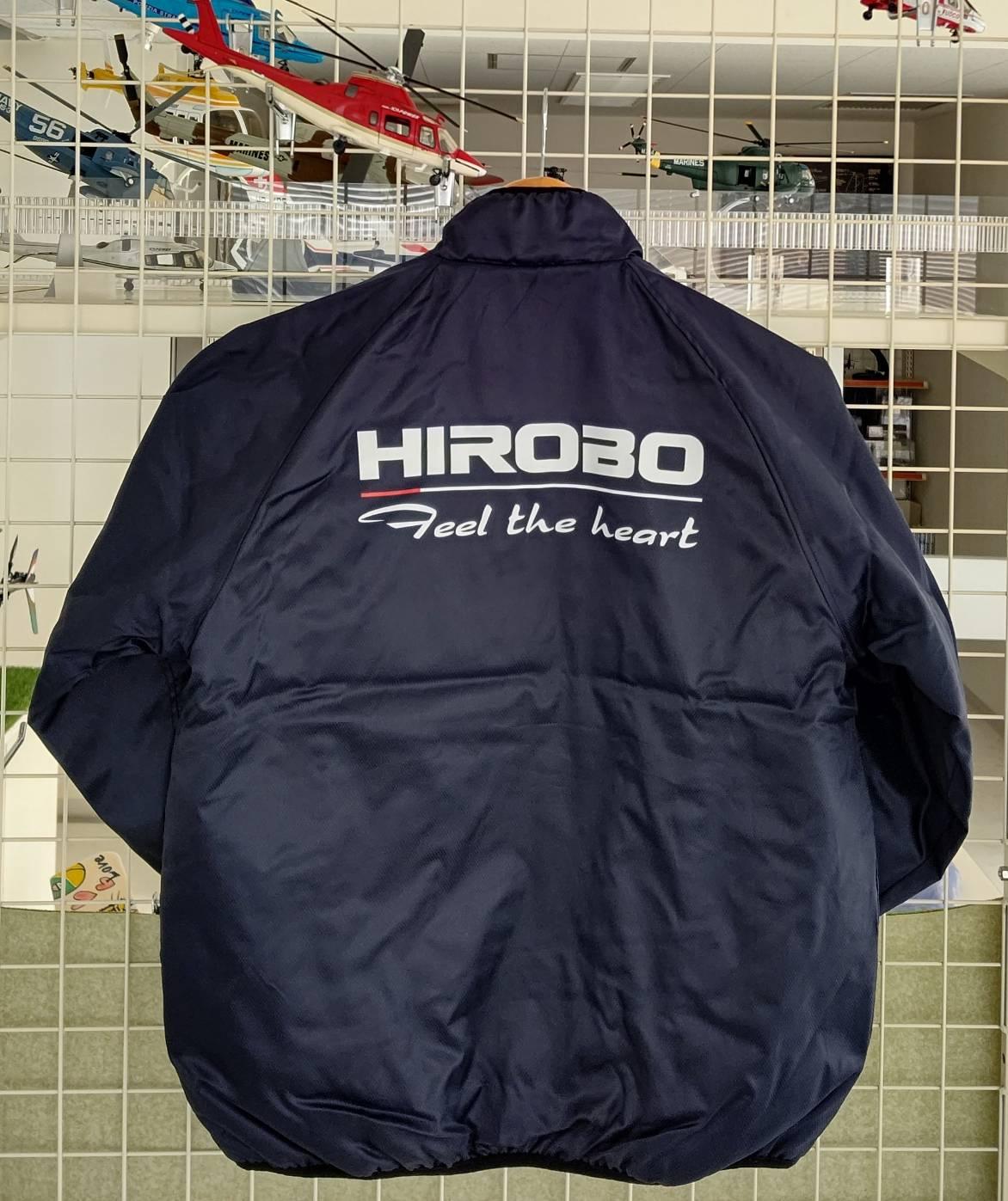 ヒロボー HIROBO チームグッズ 【2515-190】 ライトウォームジャケット ネイビー 3Lサイズ