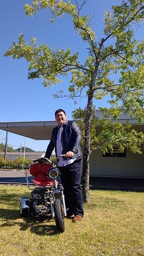 ヒロボーHIROBO ハンドル型電動車椅子 【1000-901】アレグレット - パーソナルモビリティ