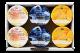 蒜山ジャージー3種のフルーツヨーグルト