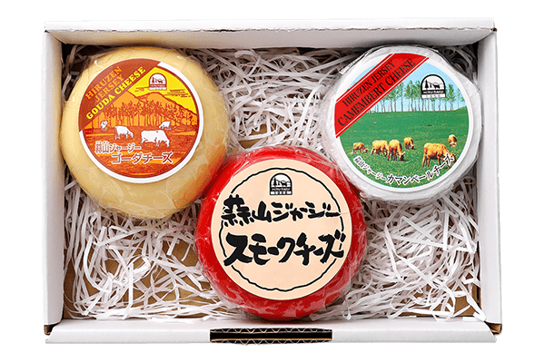 蒜山ジャージー3種のチーズ