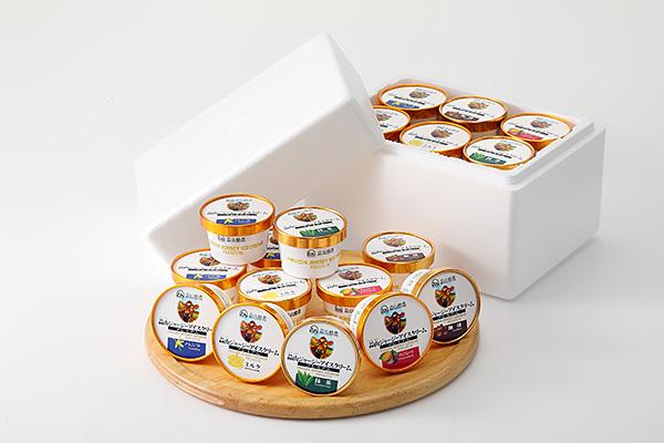 蒜山ジャージープレミアムアイスクリーム12個セット