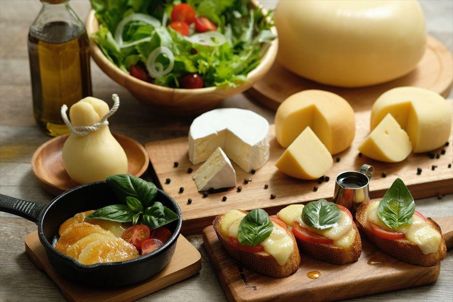蒜山ジャージーチーズ4種セット