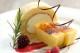 蒜山ジャージーカタラーナとロールケーキセット