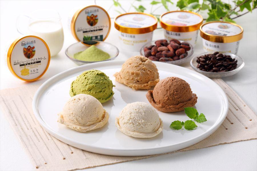 蒜山ジャージープレミアムアイスクリーム10個セット