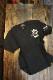 VANSON バンソン NVST-2119 Tシャツ スカル刺繍 Tシャツ ブラック