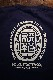 History別注 KADOYA(カドヤ) 天革Tシャツ インディゴ/アイボリー Historyステッカープレゼント 限定50着
