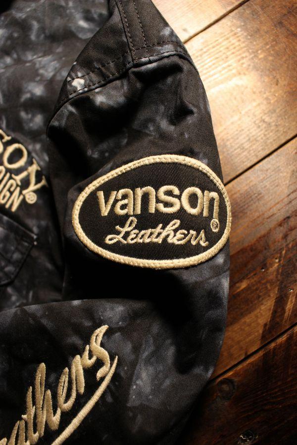 VANSON×Tom and Jerry トムとジェリーコラボ TJV-930 ワークシャツ タイダイ