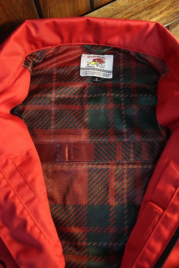 CLAY SMITH(クレイスミス) CSY-1701 DOVERスイングトップジャケット プロテクター収納可 レッド
