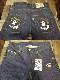 PANDIESTA JAPAN パンディエスタ デニムパンツ 風神雷神パンダ刺繍 557235