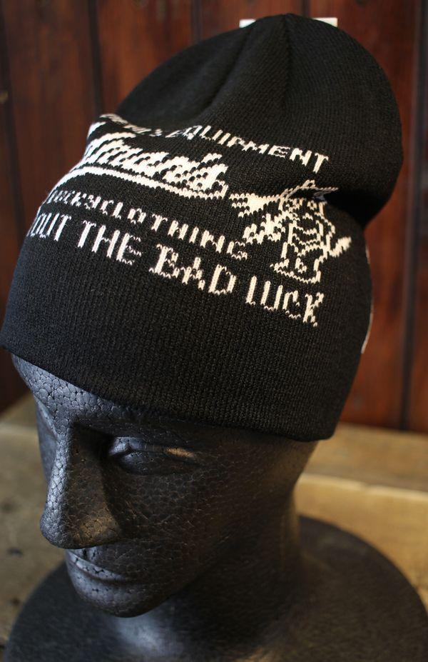 エフ商会 TEDMAN(テッドマン) TDNC-400 BLOW OUT THE BAD LUCK ニットキャップ ブラック