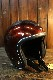 SHM Genuine SHM® Lot-501 スモールジェット ジェットヘルメット BROWN ブラウン