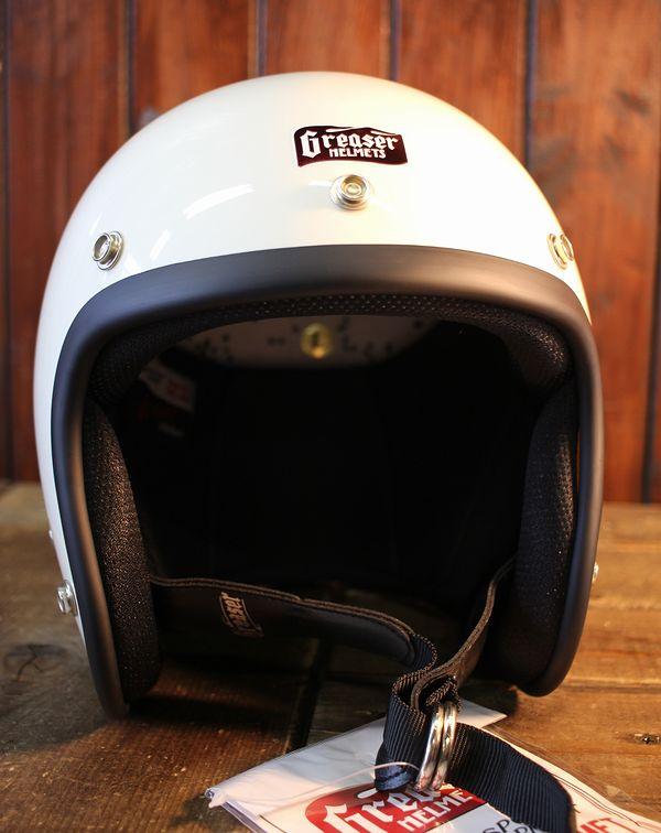GREASER HELMETS グリーサーヘルメット 60's PLANE アイボリー スモールジェット