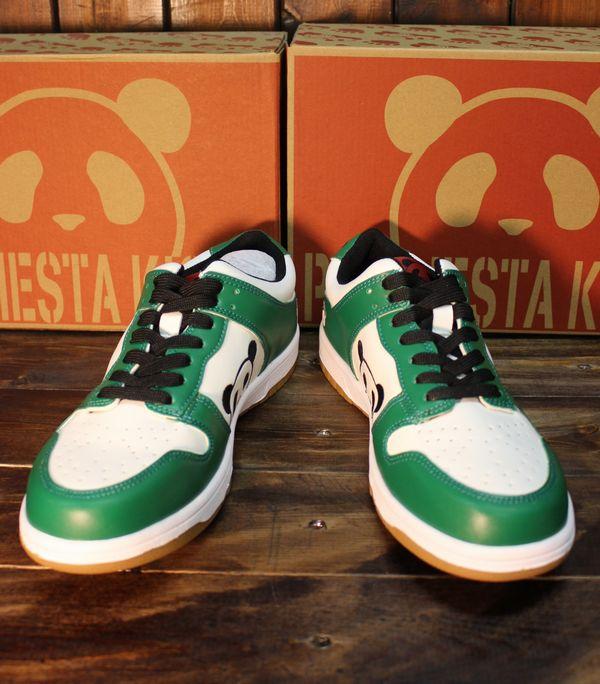 PANDIESTA JAPAN パンディエスタ 539620 PDJ-KICKS ローカットスニーカー グリーン