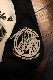 PEAK'D YELLOW ピークドイエロー PYLT-218 バイク 長袖Tシャツ ロンTee オフホワイト/ブラック