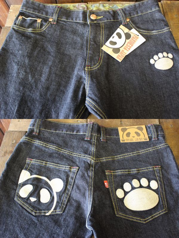 PANDIESTA JAPAN パンディエスタ 熊猫謹製 セルビッチストレッチデニム