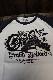 PEAK'D YELLOW ピークドイエロー PYLT-204 ロングスリーブTシャツ バイク ハーレー ホワイト/ネイビー