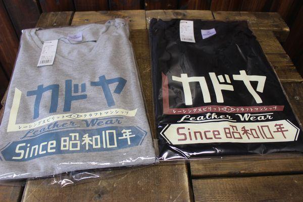 KADOYA(カドヤ) K'S PRODUCT KADED POP ROMAN-T メンズ&レディース Tシャツ