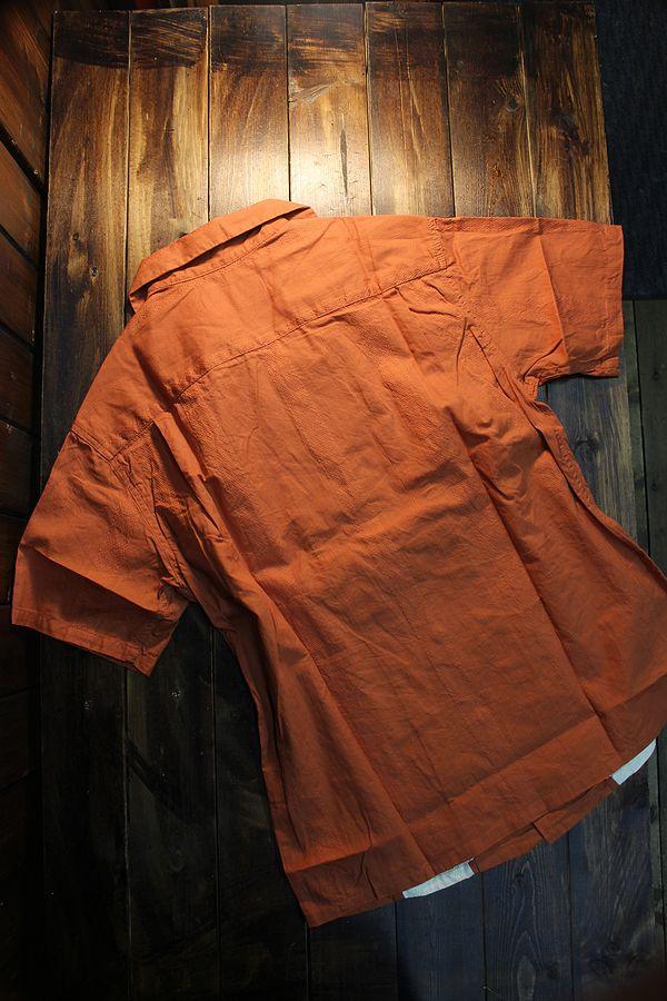 KOJIMA GENES 児島ジーンズ RNB-2011 キューバシャツ ウォールナッツ