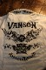 VANSON バンソン NVST-2104 天竺半袖ポロ ウイングスター オフホワイト