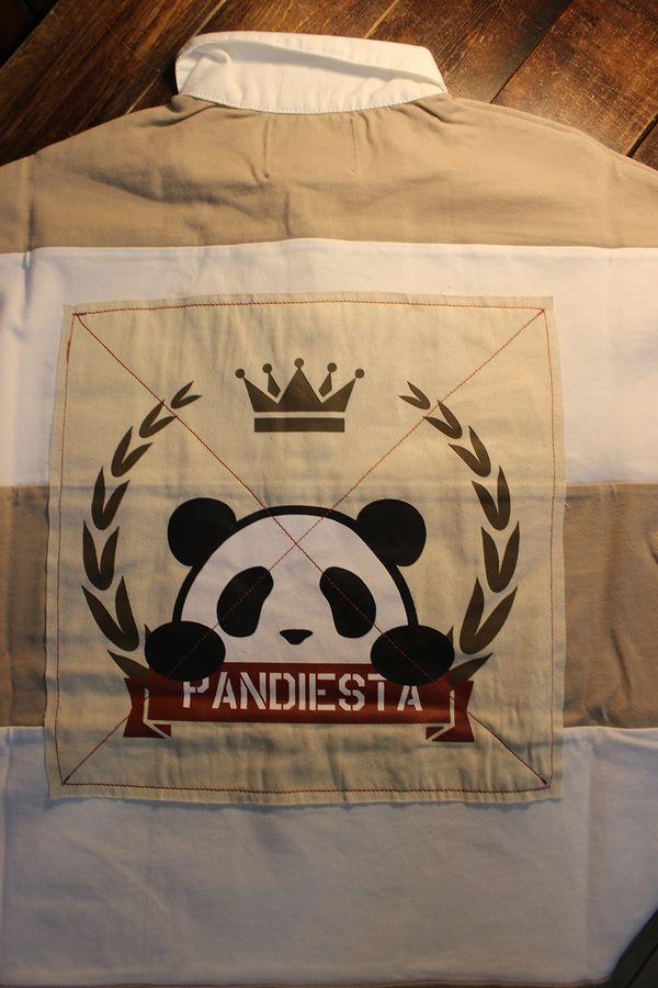 PANDIESTA JAPAN パンディエスタ 551952 ボーダーポロ オフ