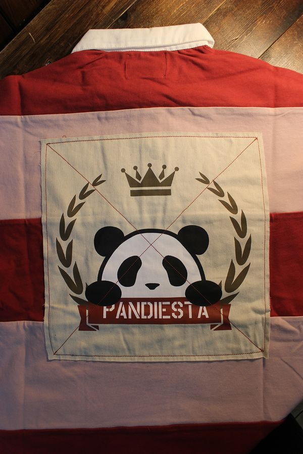 PANDIESTA JAPAN パンディエスタ 551952 ボーダーポロ ピンク