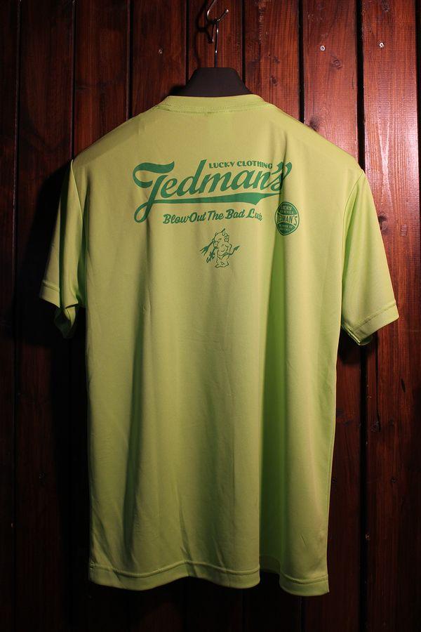 エフ商会 TEDCOMPANY TEDMAN(テッドマン) TDRYT-300 ドライTシャツ Lグリーン