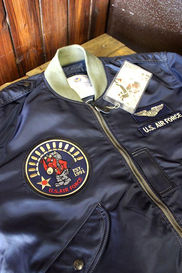 エフ商会 TEDCOMPANY テッドマン TL2-160 フライトジャケット【L-2】