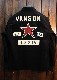 VANSON バンソン NVSL-906 細コールワークシャツ ワンスター
