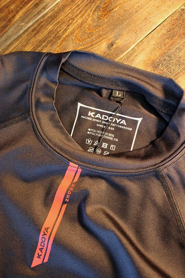 KADOYA(カドヤ) K'S LEATHER & K'S PRODUCT RIDEN TOP/ライデンロングスリーブ インナー