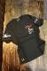 FLAG STAFF フラッグスタッフ×Snoopy スヌーピー 412014 天竺半袖Tee 刺繍 半袖Tシャツ バイク ブラック