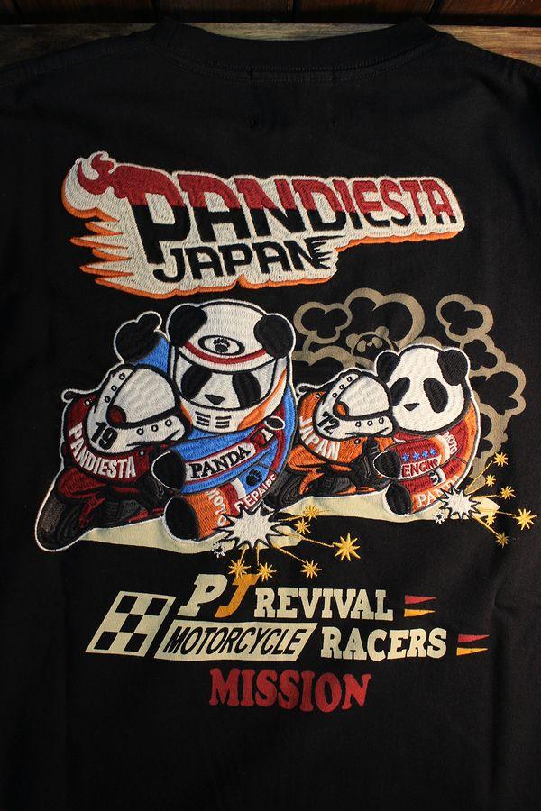 PANDIESTA JAPAN パンディエスタ 539851ハングオンパンダロンTee ブラック