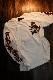 ルパン三世 LU3B-2003 天竺ロンTee 刺繍 長袖Tシャツ 峰不二子 不二子ちゃん オフホワイト