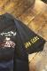 FLAG STAFF フラッグスタッフ×Snoopy スヌーピー 412016 天竺半袖Tee 刺繍 半袖Tシャツ バイク ブラック