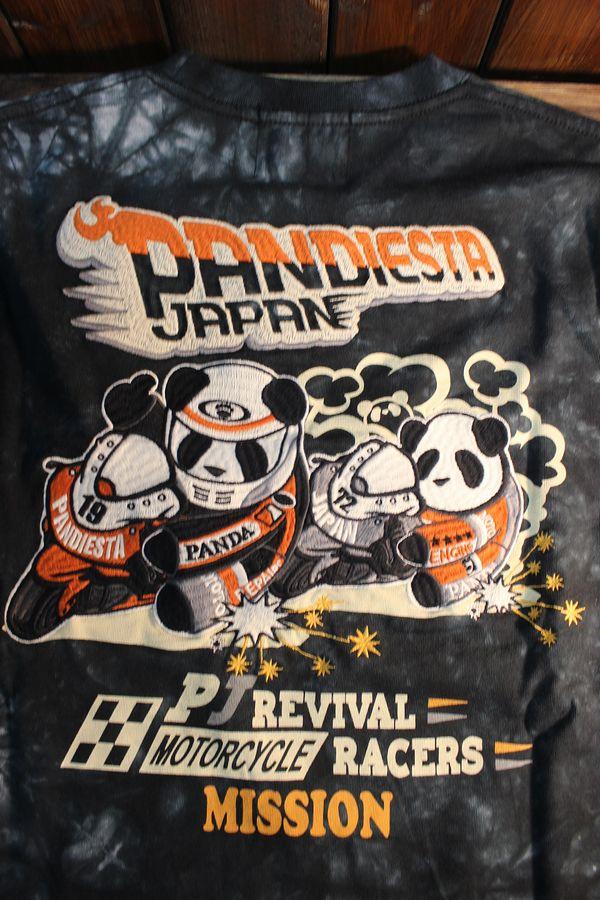 PANDIESTA JAPAN パンディエスタ 539851ハングオンパンダロンTee タイダイ