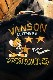 VANSON×Tom and Jerry トムとジェリーコラボ TJV-2031 ボンディングスタジャン フード着脱式 ブラック