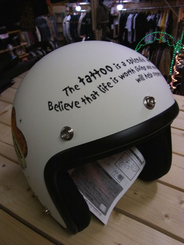 エフ商会 BLOOD MESSAGE BMH-01 ジェットヘルメット