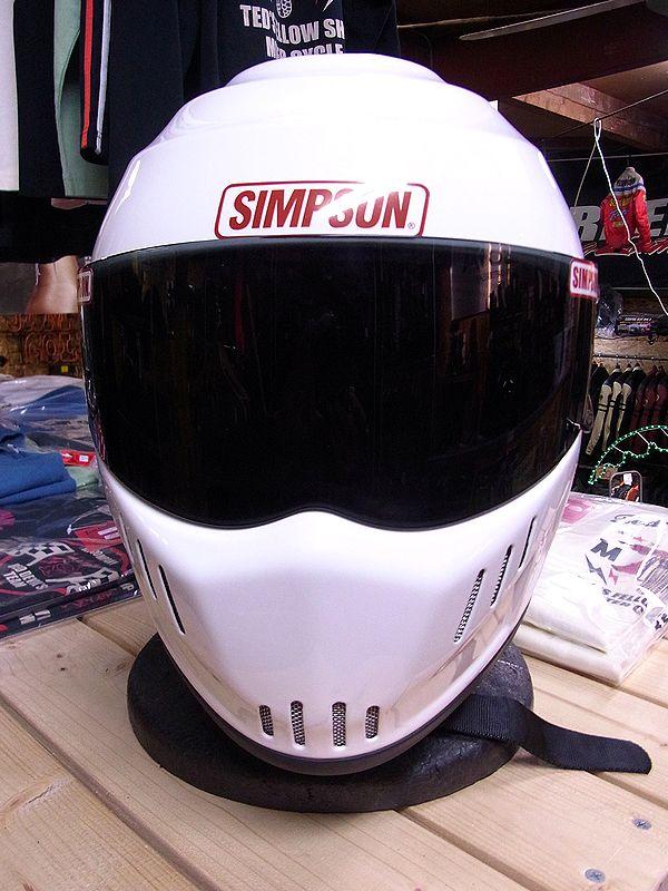 《シールドサービス》シンプソンヘルメット RX12  SPEEDWAY RX12 ホワイト