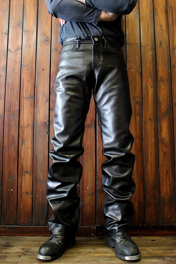 KADOYA(カドヤ)K'S LEATHER   STS-PANTS ストレートレザーパンツ 革パンツ ライダース