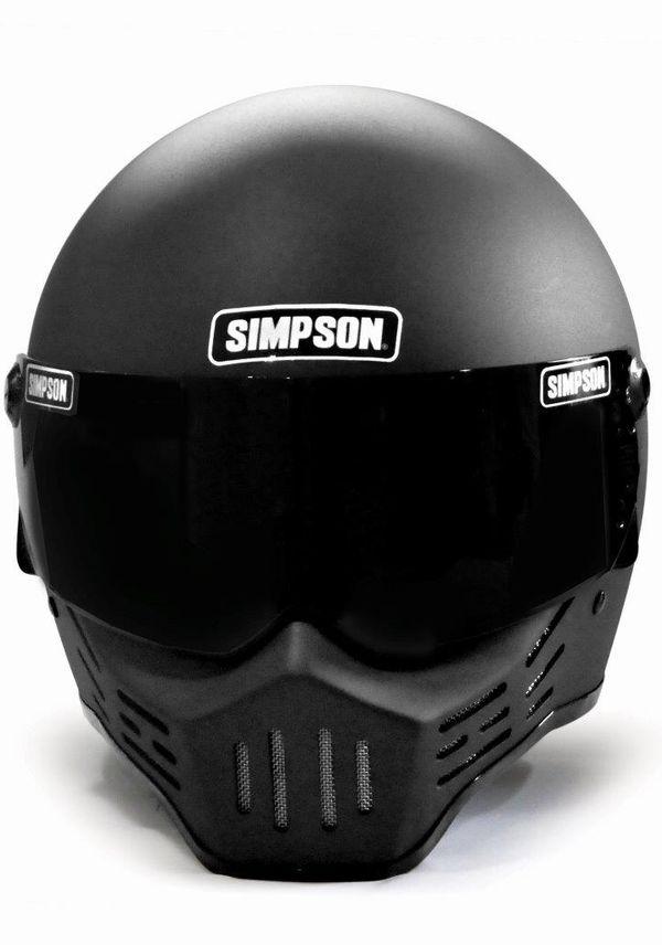 ☆シールドサービス☆シンプソン(SIMPSON)ヘルメット M30 復刻版 ストーンブラック
