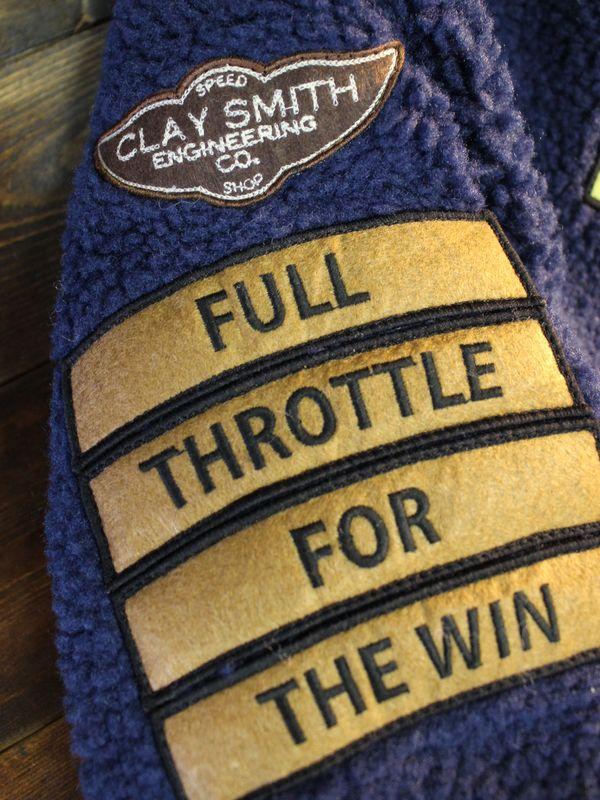 CLAY SMITH クレイスミス CSY-9508 GOOFBALL 防風ジャケット ネイビー