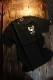 VANSON バンソン NVST-2125 半袖Tee カナダ製 天竺半袖Tee Tシャツ イーグル スカル ブラック