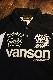 VANSON バンソン NVPS-2009 Wフェイスポロ ブラック