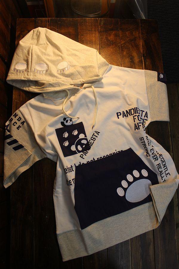 PANDIESTA JAPAN パンディエスタジャパン 551951 切替プルパーカー オフ