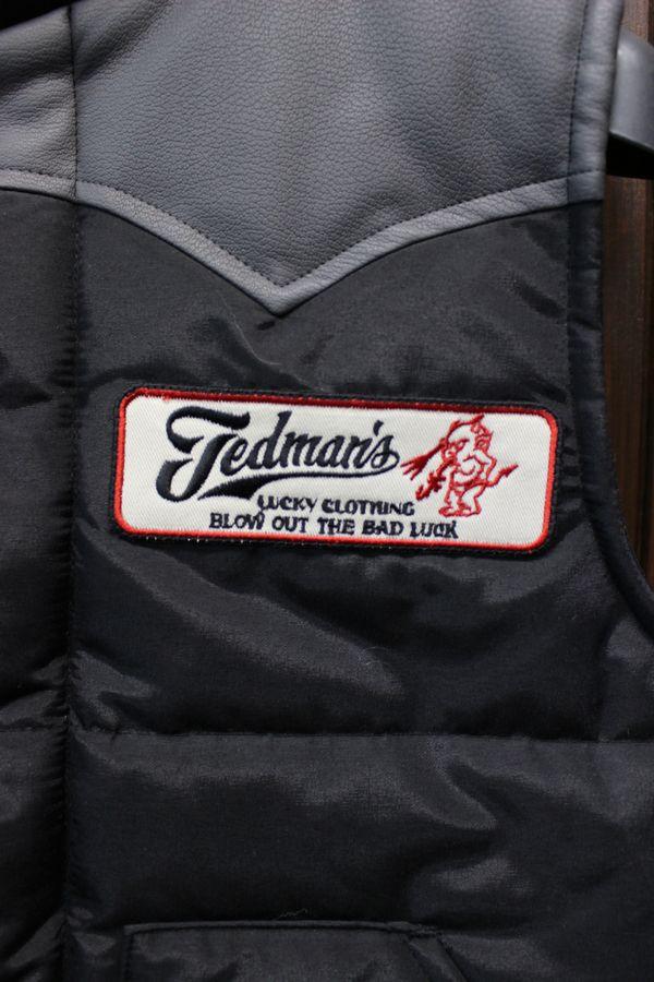 エフ商会 TEDMAN(テッドマン) テッドカンパニー TDVT-020 TEDMAN QUILTING VEST ベスト