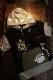PANDIESTA JAPAN パンディエスタジャパン 551951 切替プルパーカー ブラック