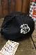 エフ商会 PEAK'D YELLOW ピークドイエロー PYC-900 KISS MY TATTOO メッシュキャップ ブラック/ブラック