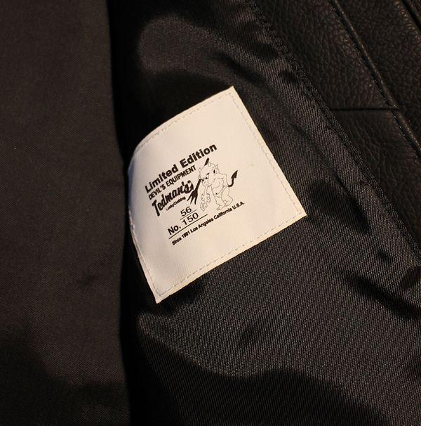 TEDCOMPANY エフ商会 TEDMANテッドマン 150着限定 TDRJ-10000 シングルライダースJKT レザー 革ジャン